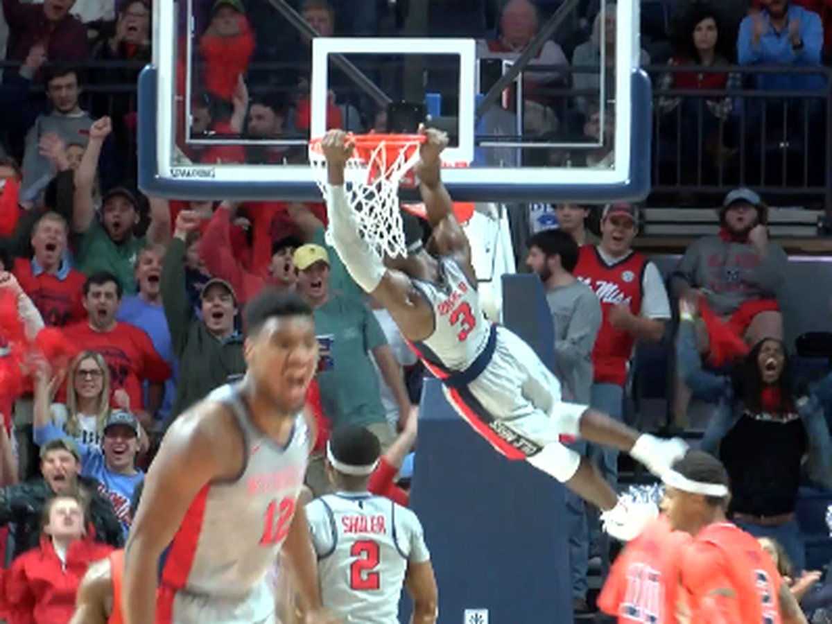 Ole Miss Upsets No. 10 Auburn 82-67 with Wire-to-Wire Victory