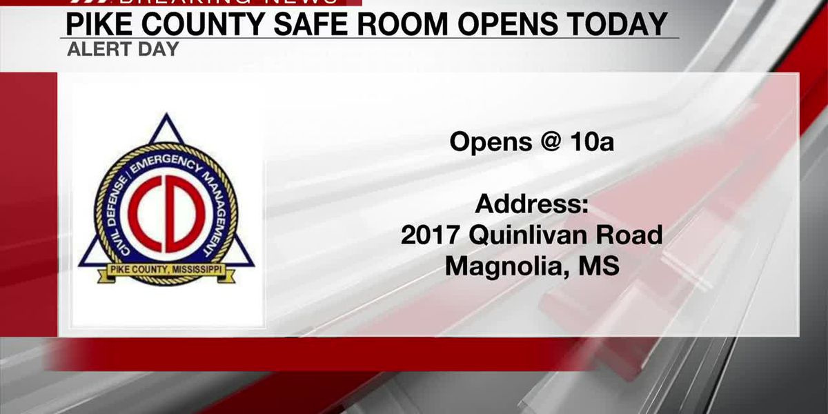 Pike County Safe Room opens as Hurricane Delta approaches