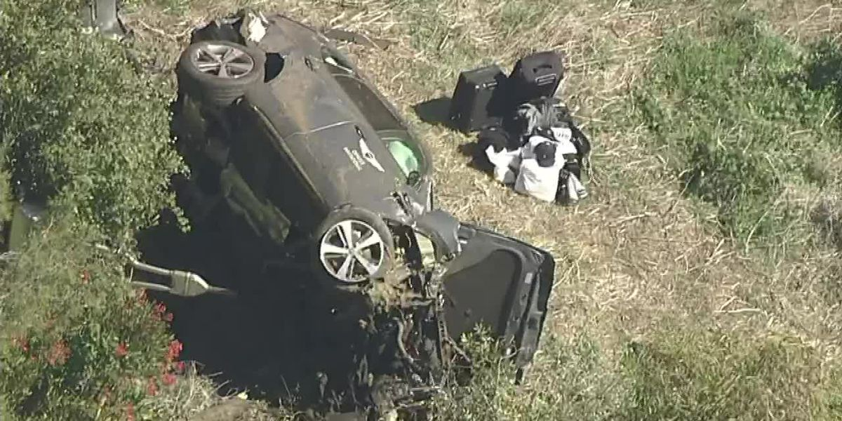 Tiger Woods was headed to meet Drew Brees before rollover crash