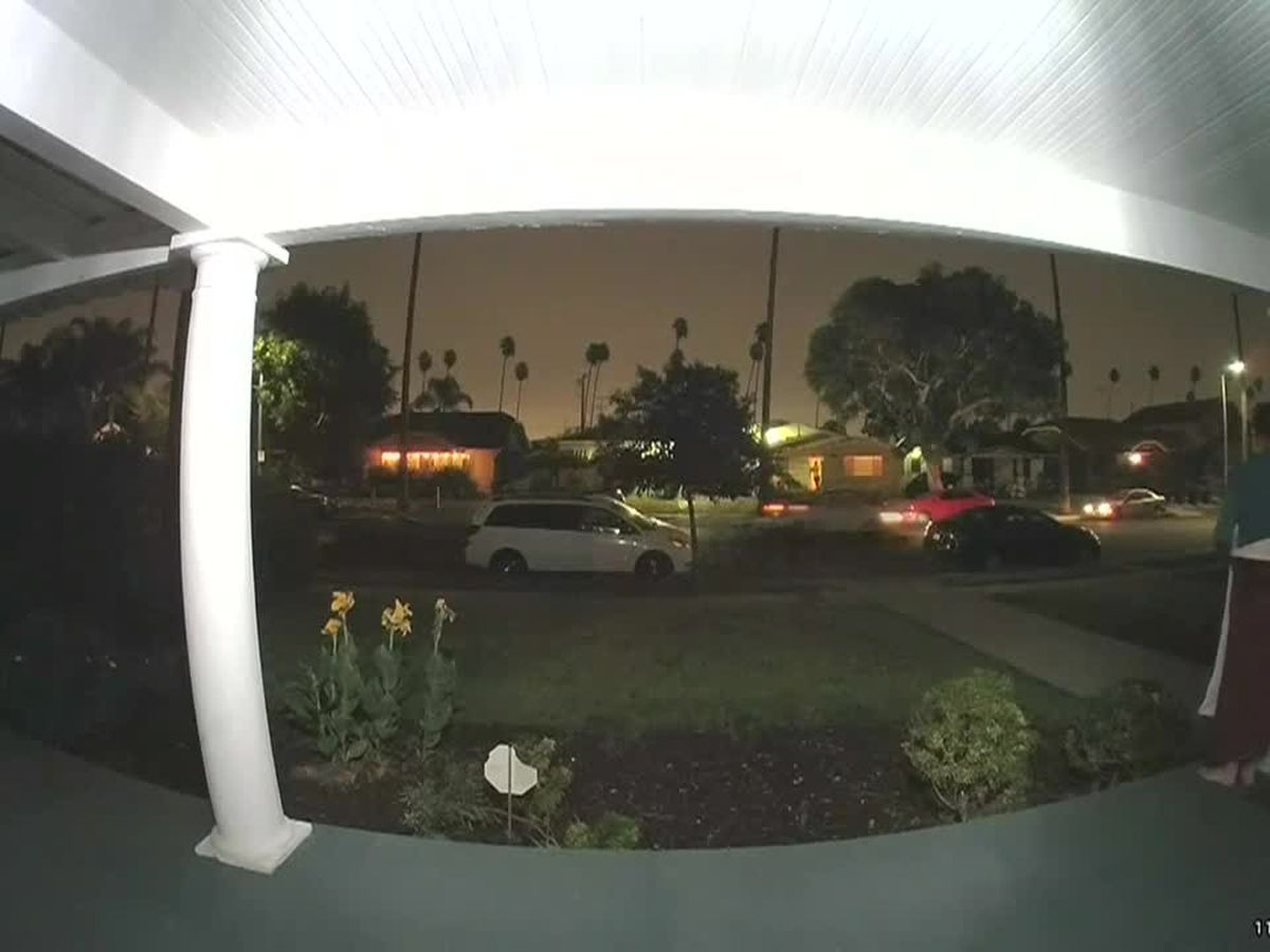 'Somebody help me': Doorbell camera captures woman's screams from passing car