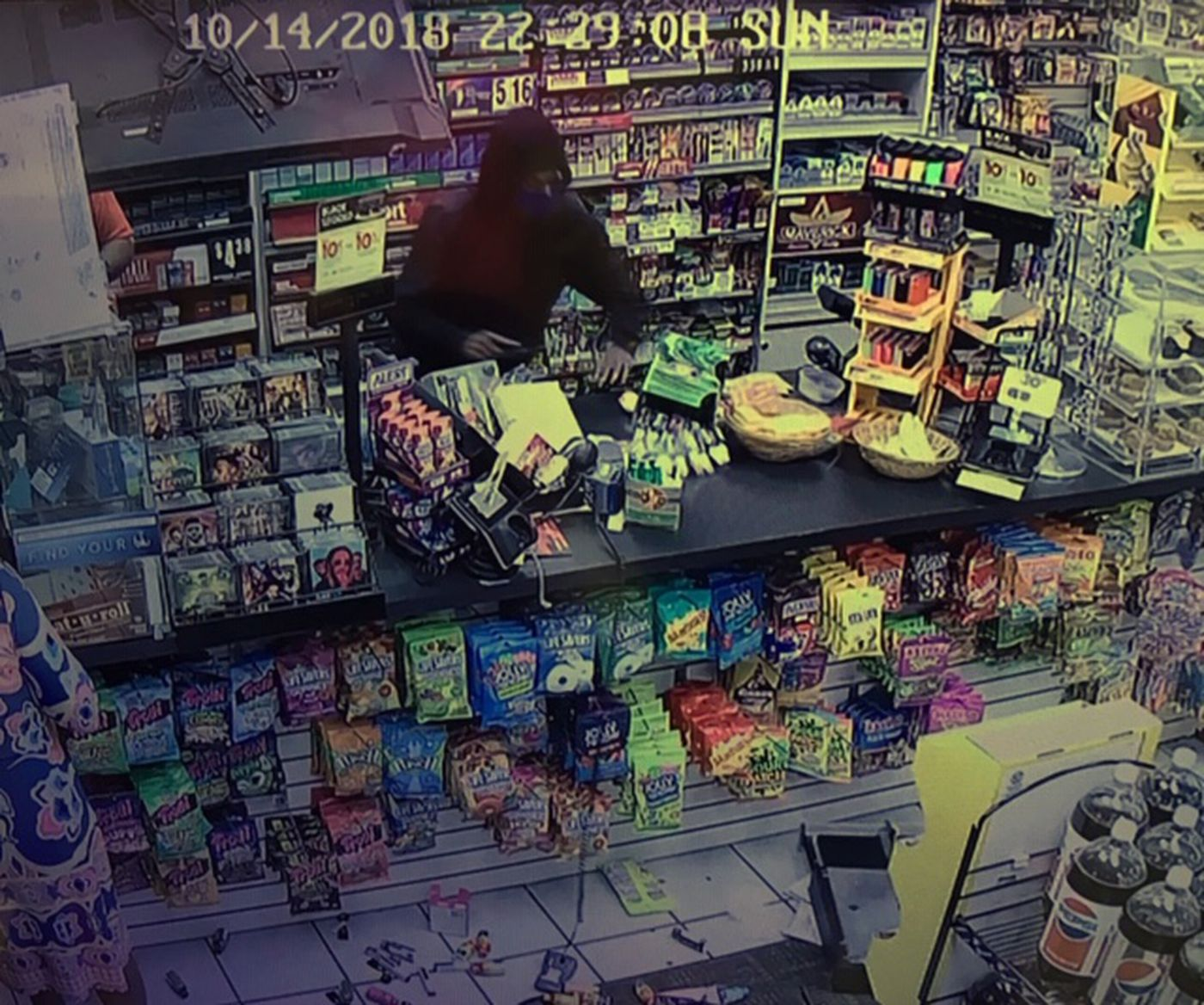 Police searching for suspects in connected Shell gas station robberies