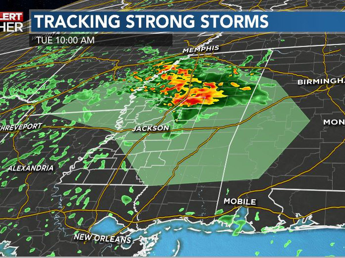 First Alert Forecast: storms return Tuesday; unsettled days continue