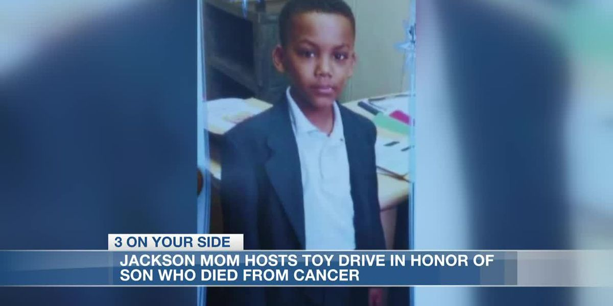 Jackson mom hosts toy drive in honor of son who died from cancer