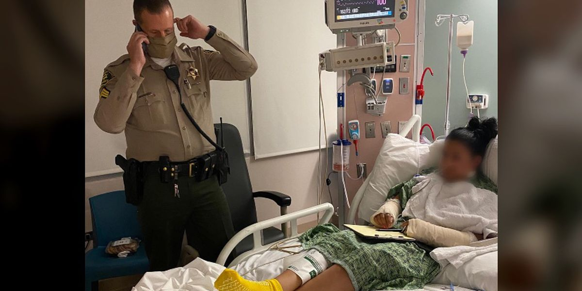 President Trump calls deputies shot in California, wishes them a speedy recovery