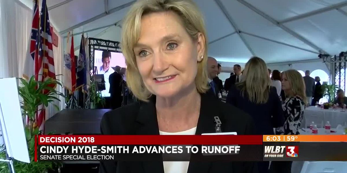 VIDEO-Cindy Hyde-Smith talks strategy as she advances to Senate runoff
