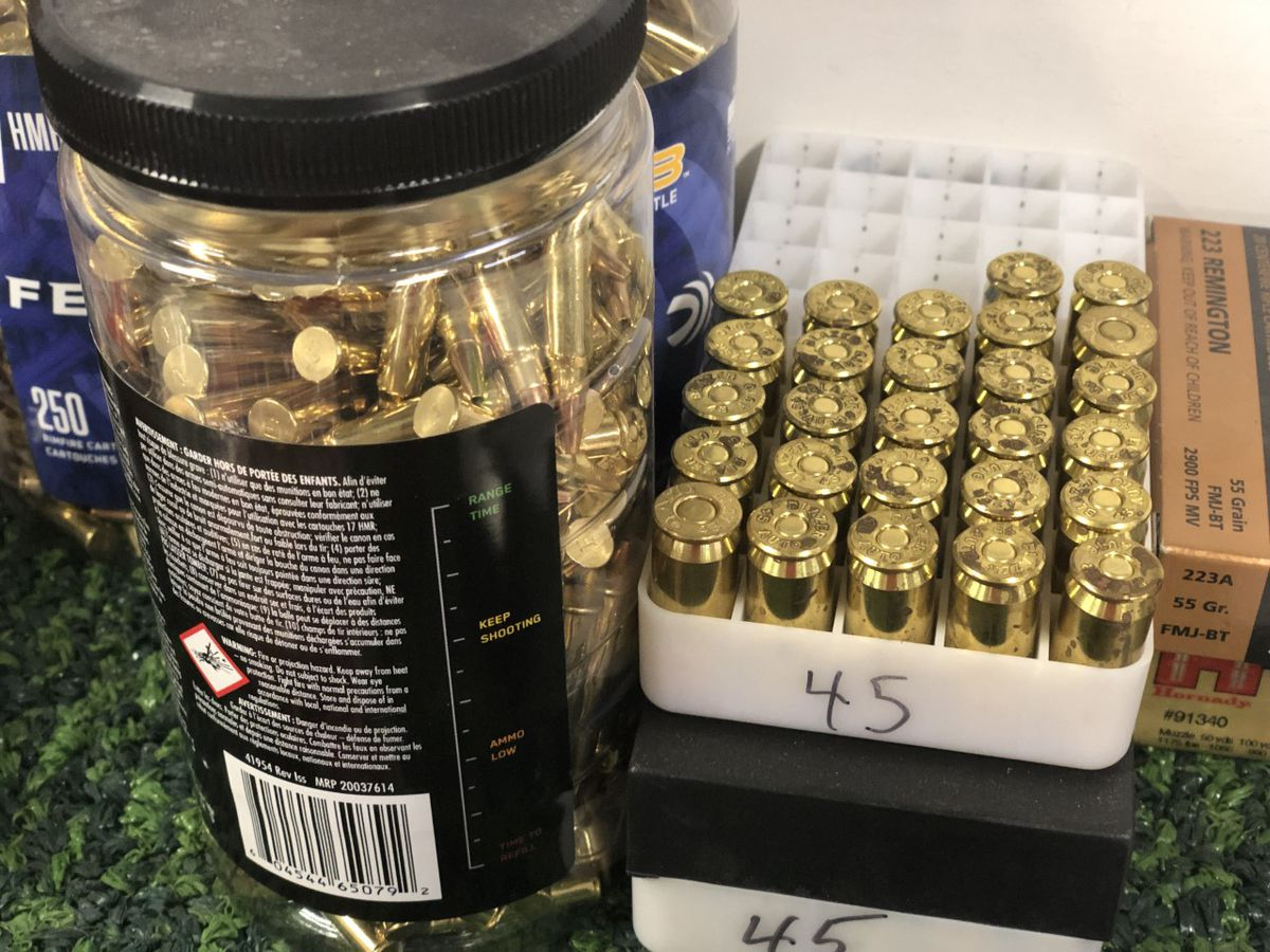 Ammo scarcity in Mississippi blamed on pandemic, concern of a Biden administration