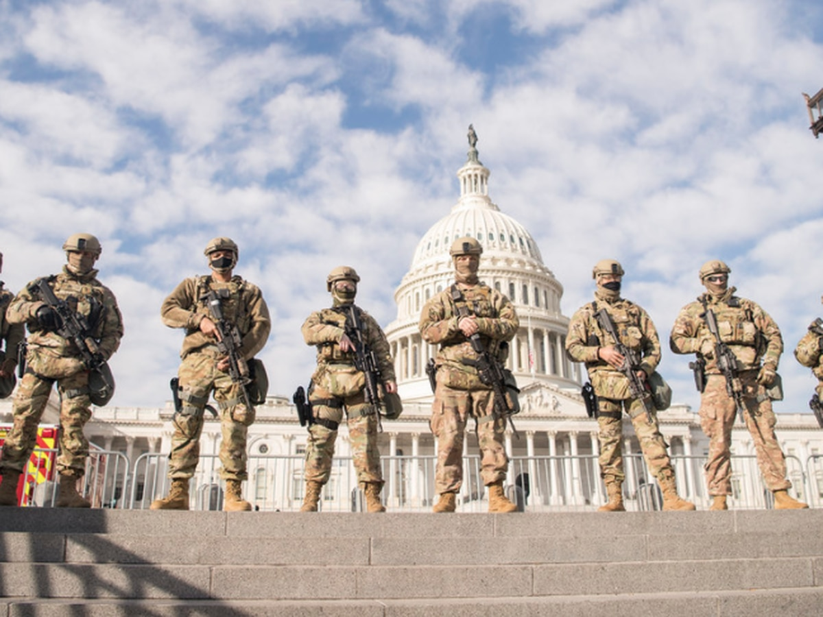 144TH MP Company deploys to Washington, D.C. to provide security during Biden's inauguration