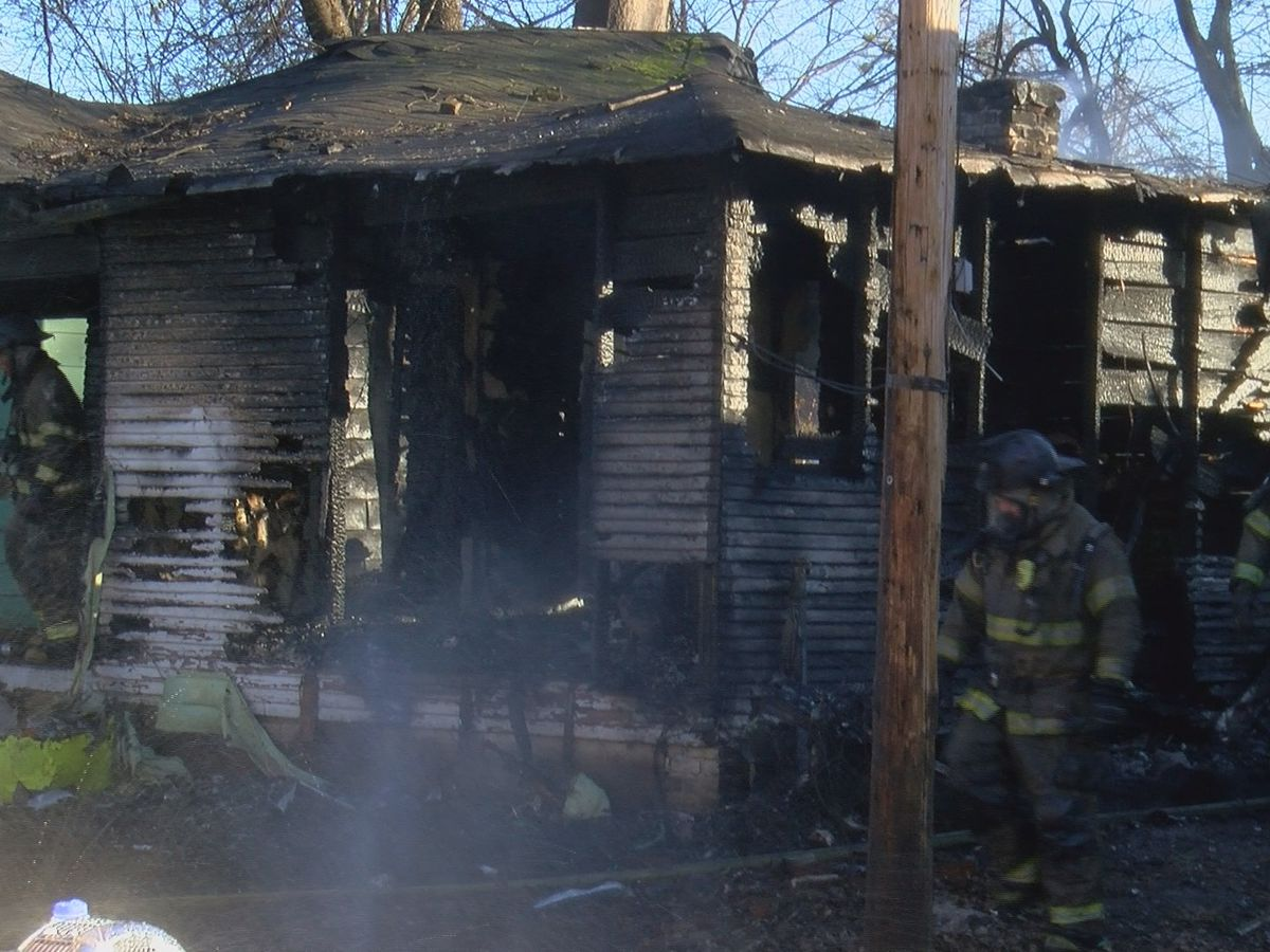 Two homes damages, 1 seriously during fire on Jones Ave.