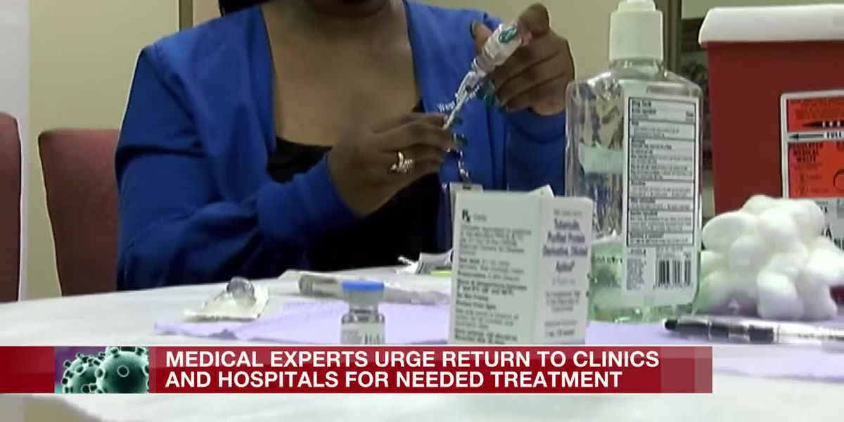 'Prepared to Care' campaign urges patients to return to clinics and hospitals