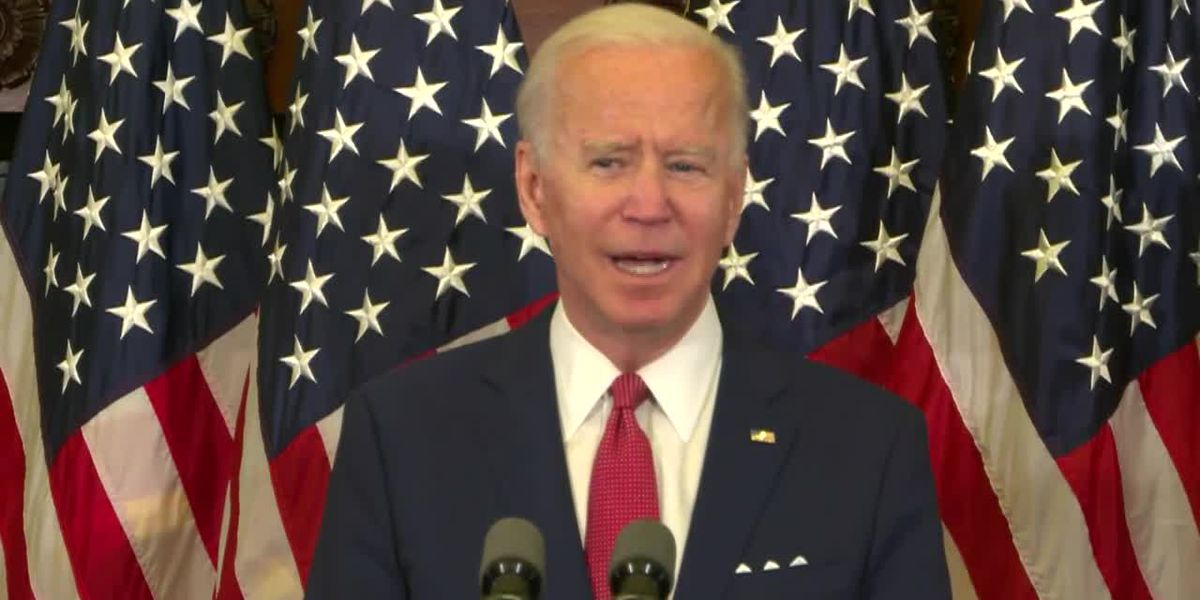 Biden speaks in Philadelphia