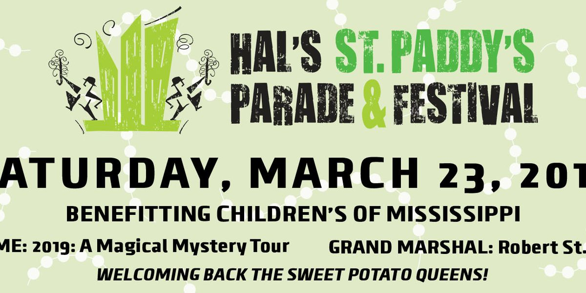 2019 Hal's St. Paddy's Parade Route