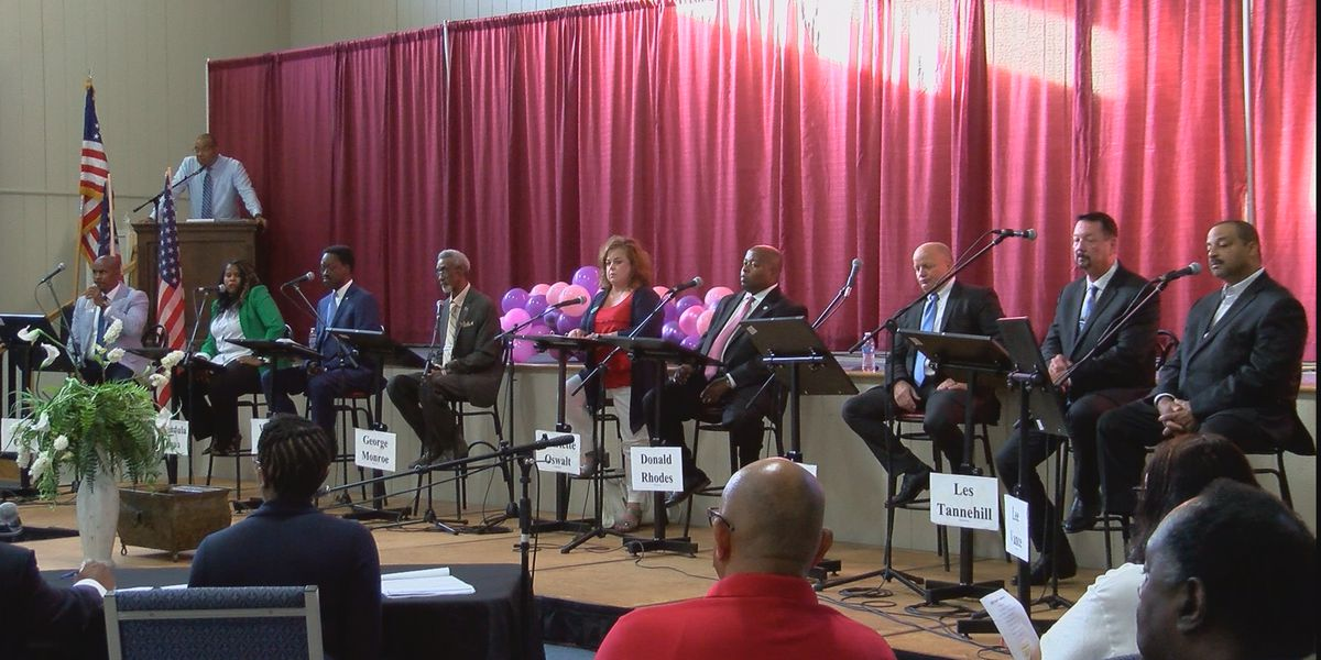 Candidates for Hinds County Sheriff face the community in forum