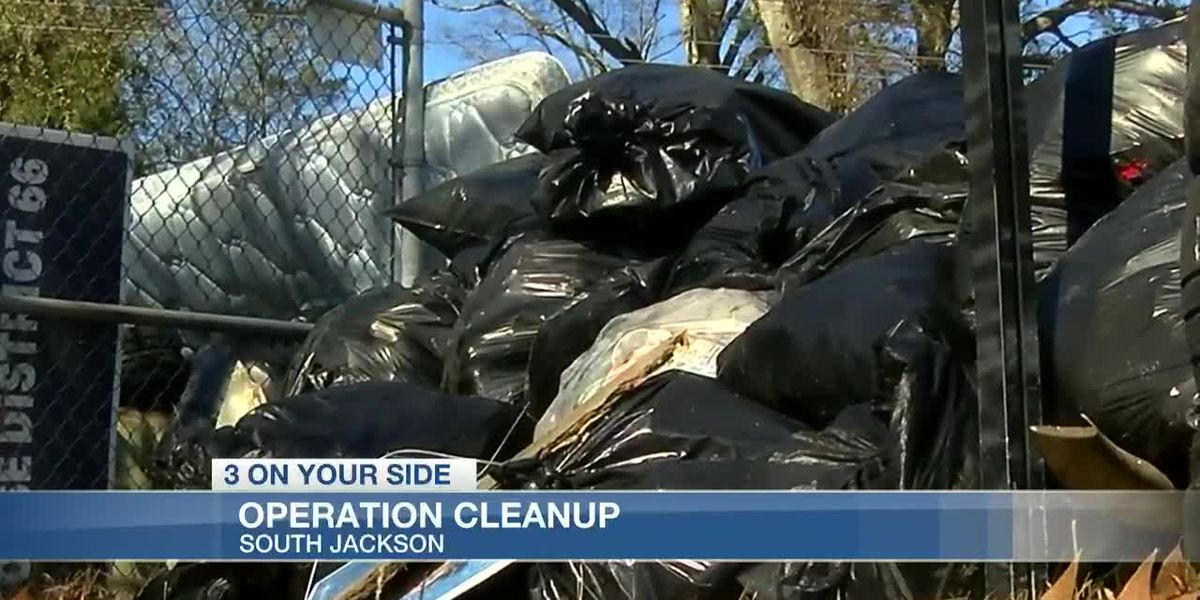 South Jackson residents and volunteers clean up the community, looking to revitalize the area