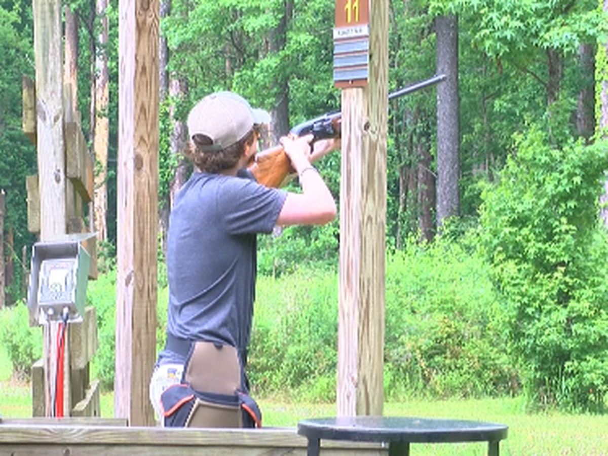 Students compete for scholarships in shooting sports