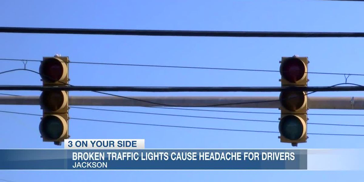 'Y'all, we got to do better:' Broken traffic lights in west Jackson causing headaches