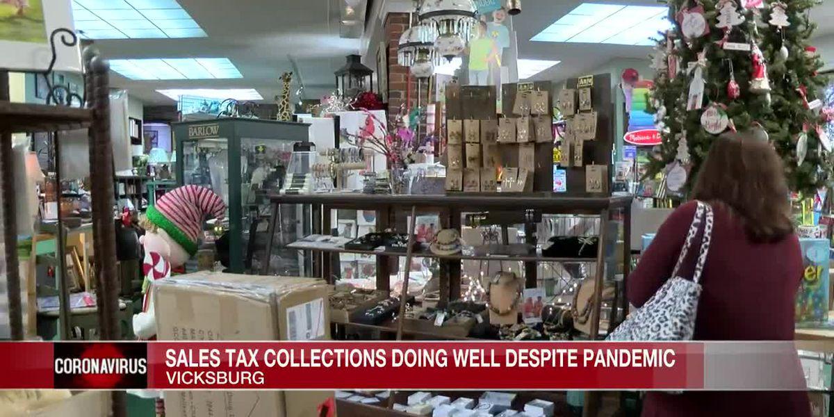 City of Vicksburg almost meets sales tax collections goal despite pandemic setbacks