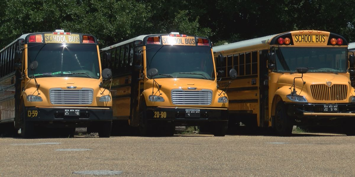 School bus drivers prepare for coming school year with COVID-19 precautions