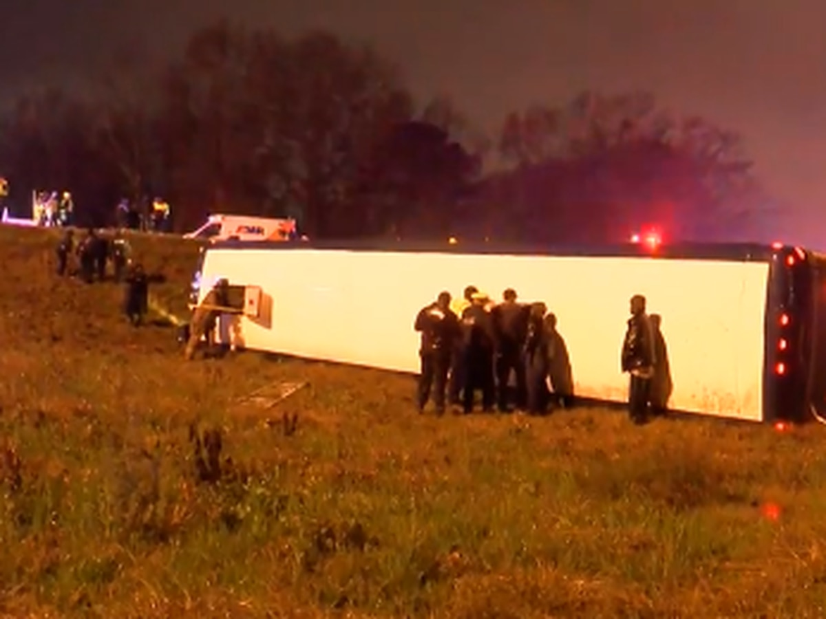 DUI charges upgraded for driver in Greyhound bus crash
