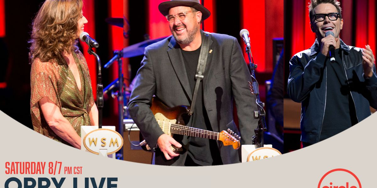 Vince Gill, Amy Grant headlining Saturday's Grand Ole Opry. Here's how you can watch.