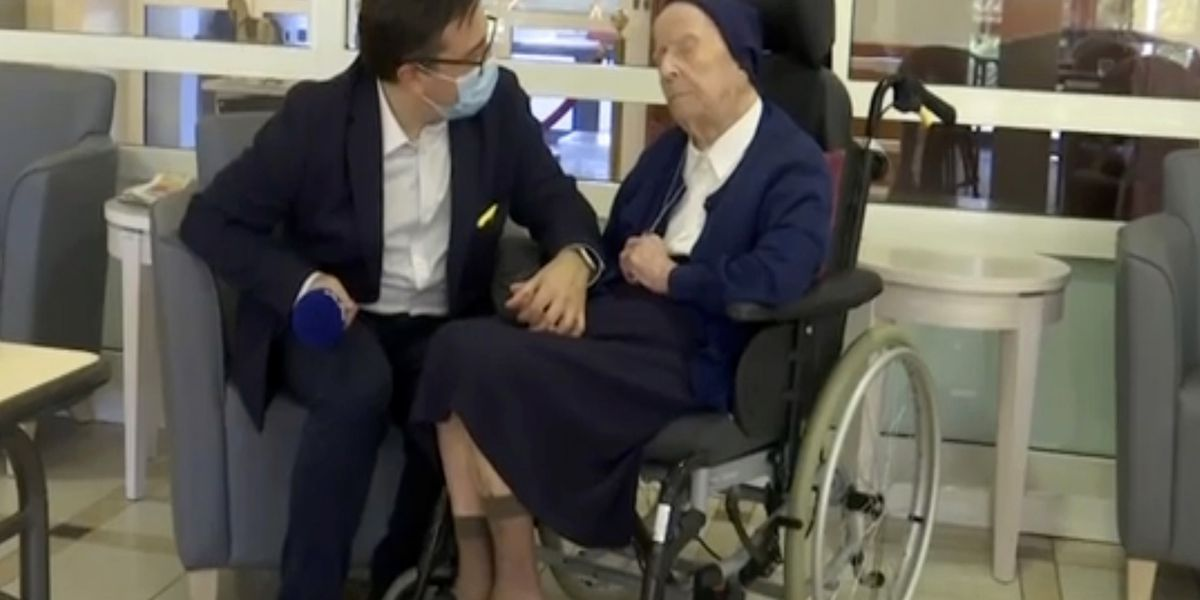 World's second-oldest person survives COVID-19 at age 116