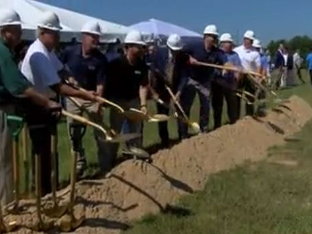 Ridgeland breaks ground on new City Hall complex