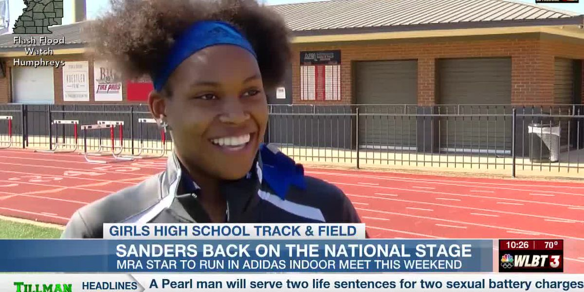 MRA's Sanders set for Adidas national indoor meet