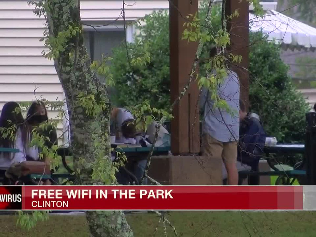 Free WiFi in the Park for those lacking internet access, while rural residents fight for the chance