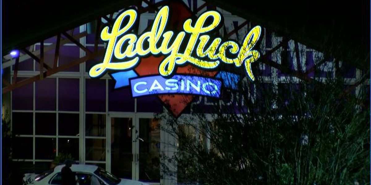 Landslide blocks road going to Lady Luck Casino