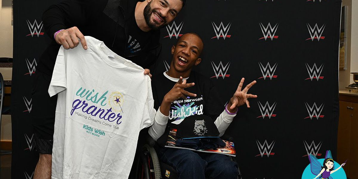 WWE star Roman Reigns makes Mississippi boy's wish come true