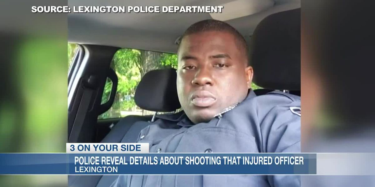 Lexington police chief expresses frustration after ambush injures one of his officers