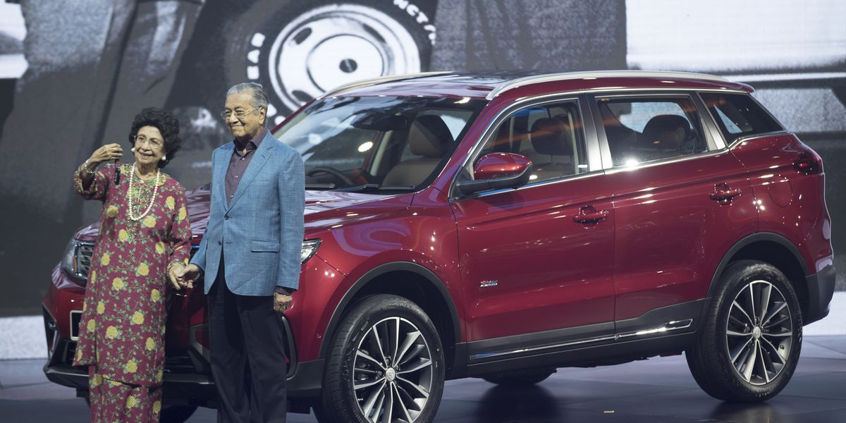 Malaysia's Proton launches 1st SUV with China's Geely