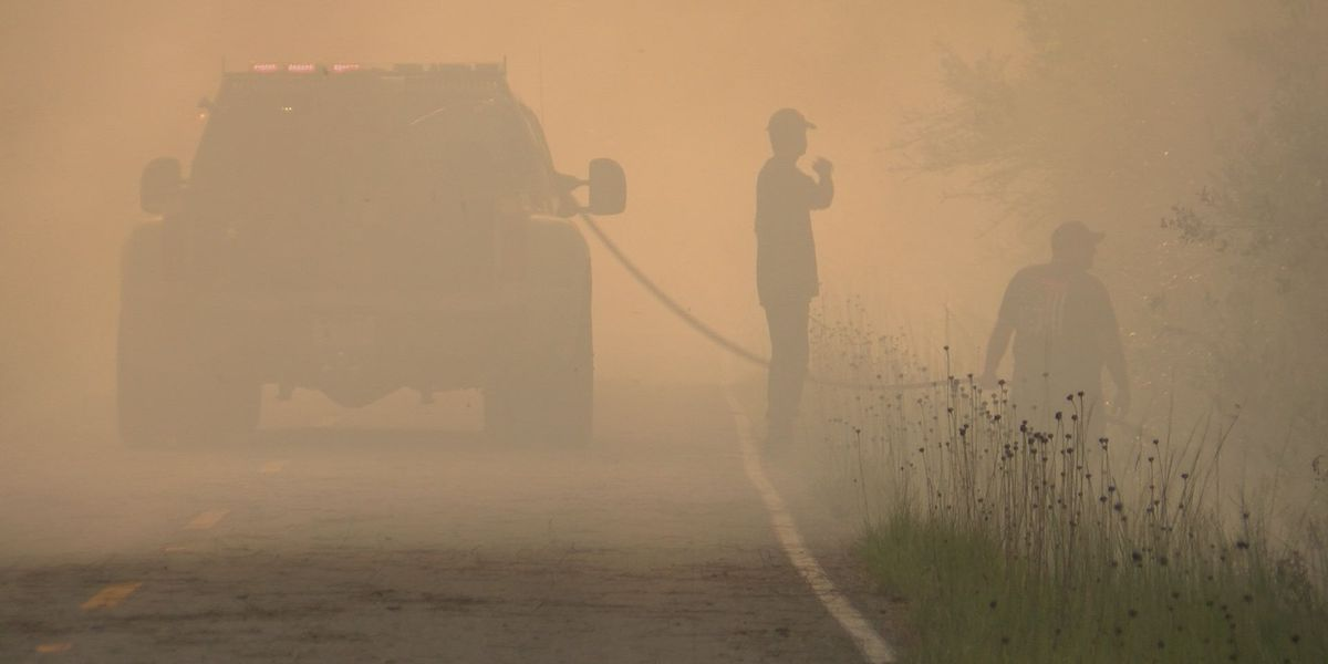 VIDEO: Jackson Co. fire 80% contained as 160 acres continue to burn
