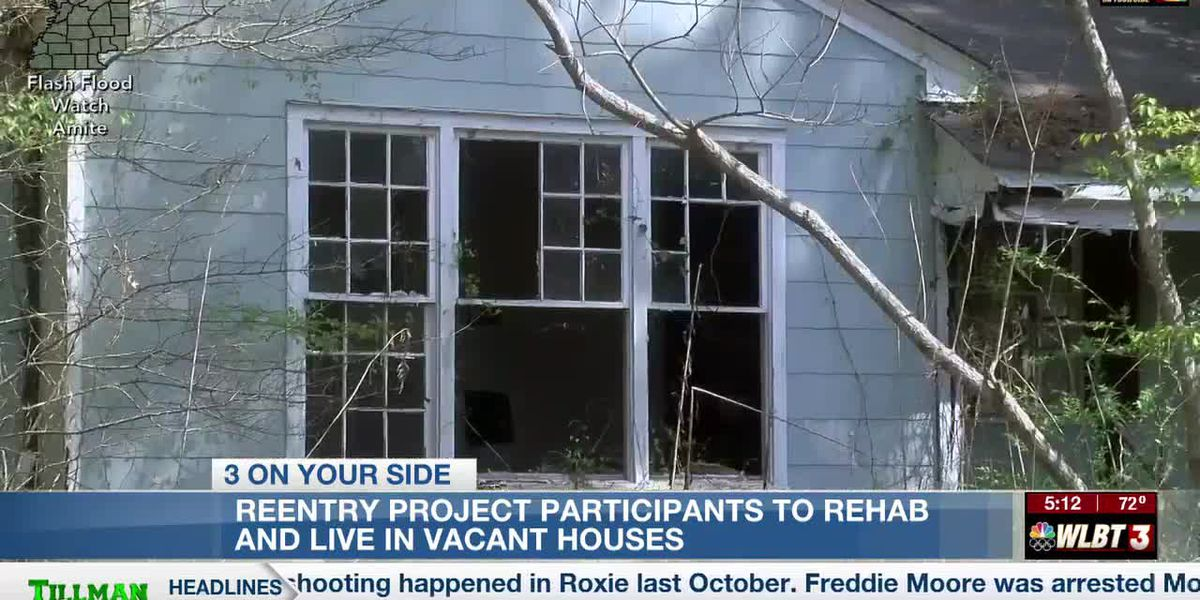 Reentry project participants to rehab and occupy vacant houses, helping to curb crime