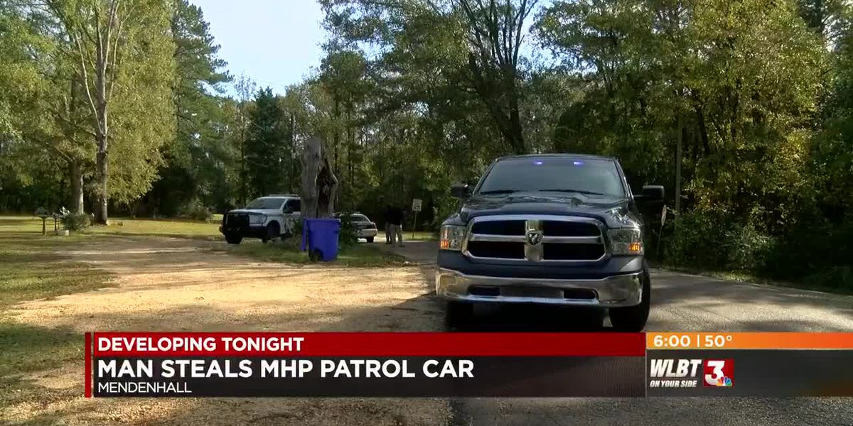 VIDEO: Man escapes custody after stealing MHP patrol car during arrest