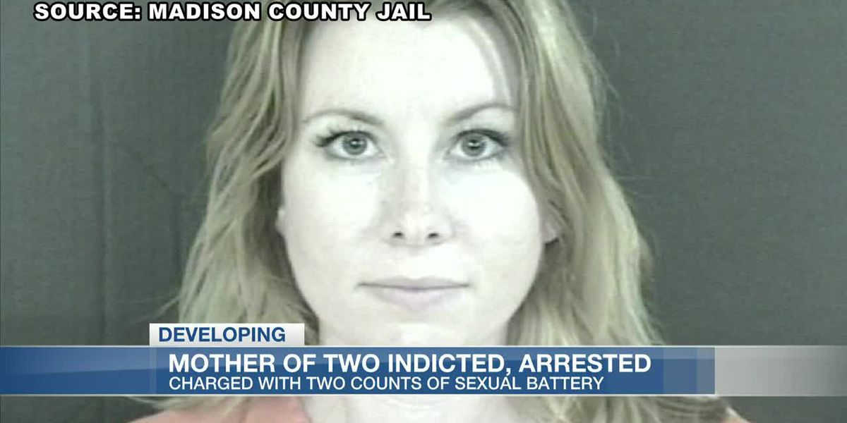 Mother of two indicted, arrested on charges of sexual battery