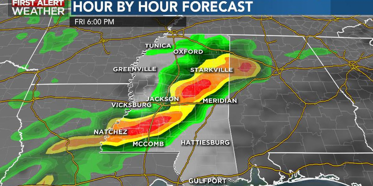 First Alert Forecast: mild Thursday; rain, storms return Friday