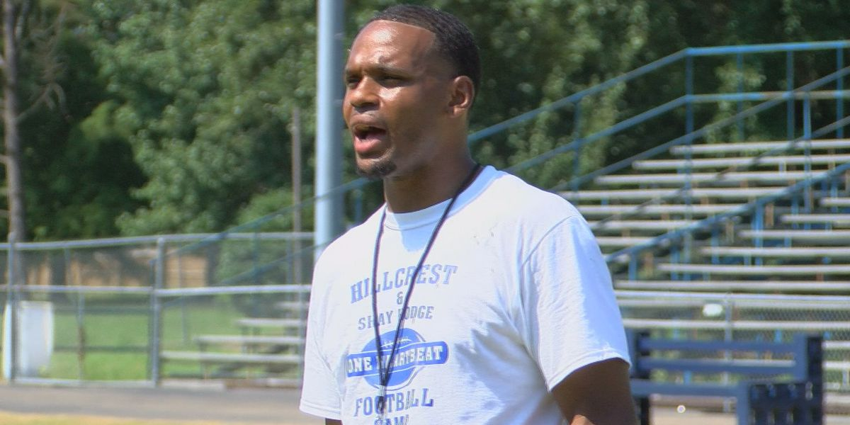 Shay Hodge hosts football camp at Hillcrest Christian