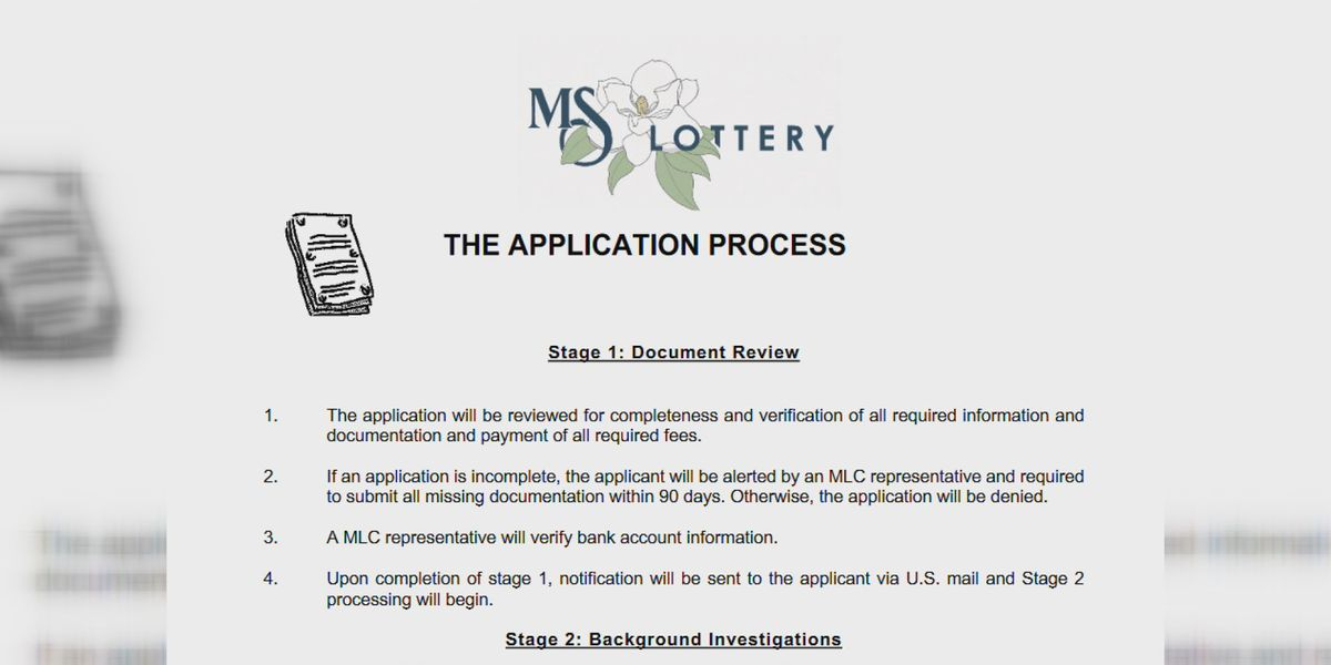 Potential Mississippi lottery retailers start submitting applications