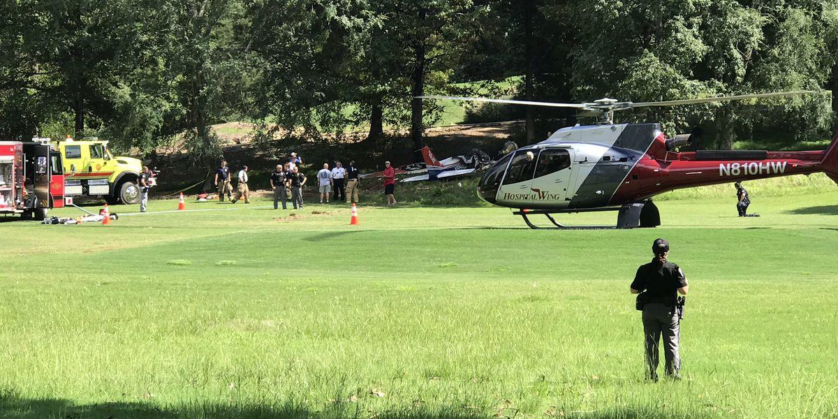Pilot dies after crash-landing onto Ole Miss golf course, sources say