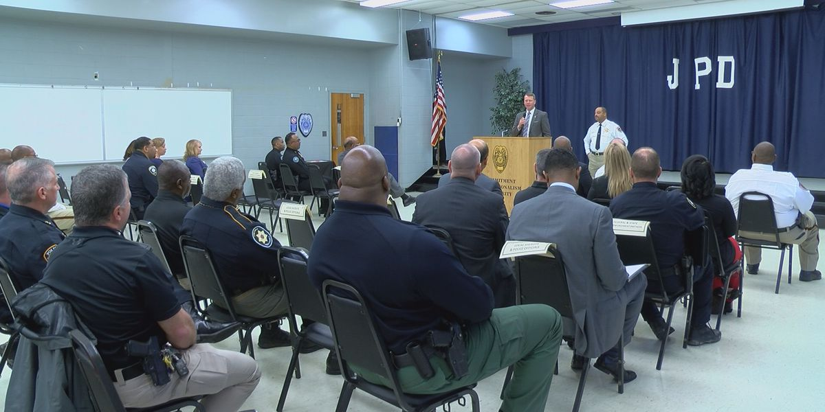 Law enforcement of all levels meet and greet in Jackson