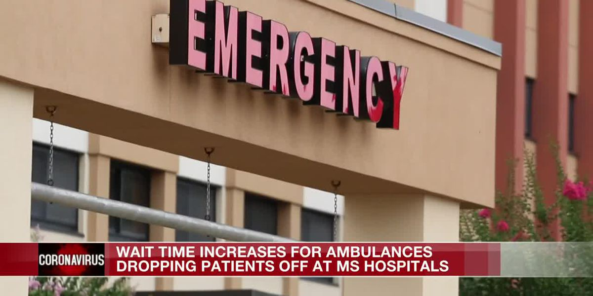 Pandemic pushes long wait times even higher for some ambulances transferring patients in Mississippi