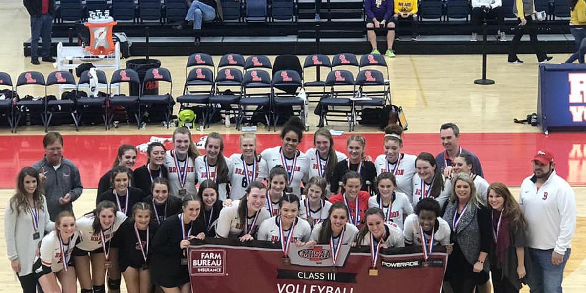 Brandon Lady Bulldogs volleyball team recognized