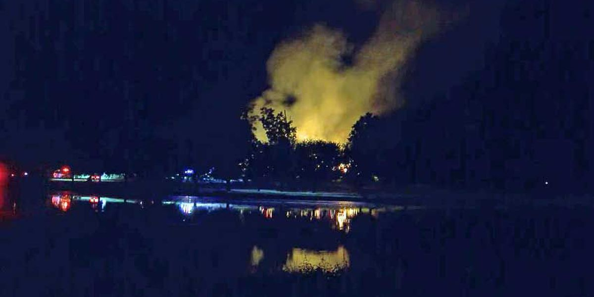Old Holloway Mansion on Siwell Road in Byram burns to ground