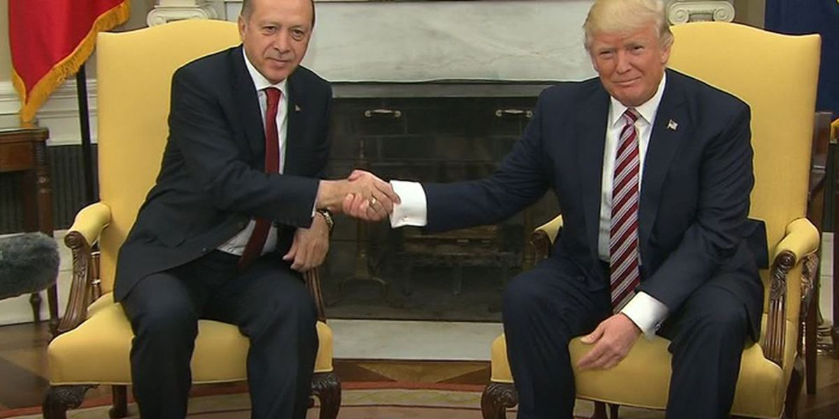 Trump and Erdogan meet amid strained US-Turkey relations