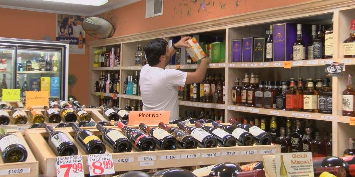 Alcohol sales are pouring in amid coronavirus outbreak