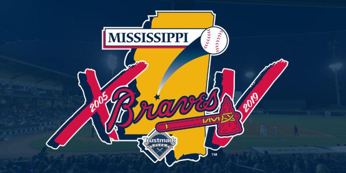 Mississippi Braves reveal 15th season logo