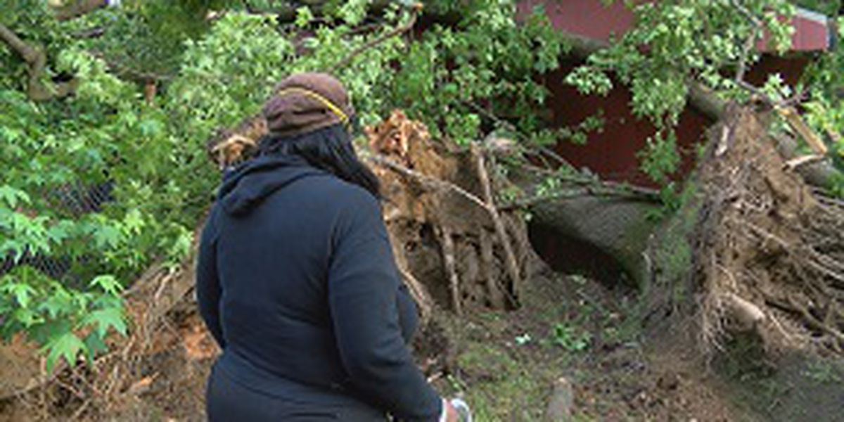 Jackson woman says divine intervention saved her and her disabled sister in Tuesday's storms