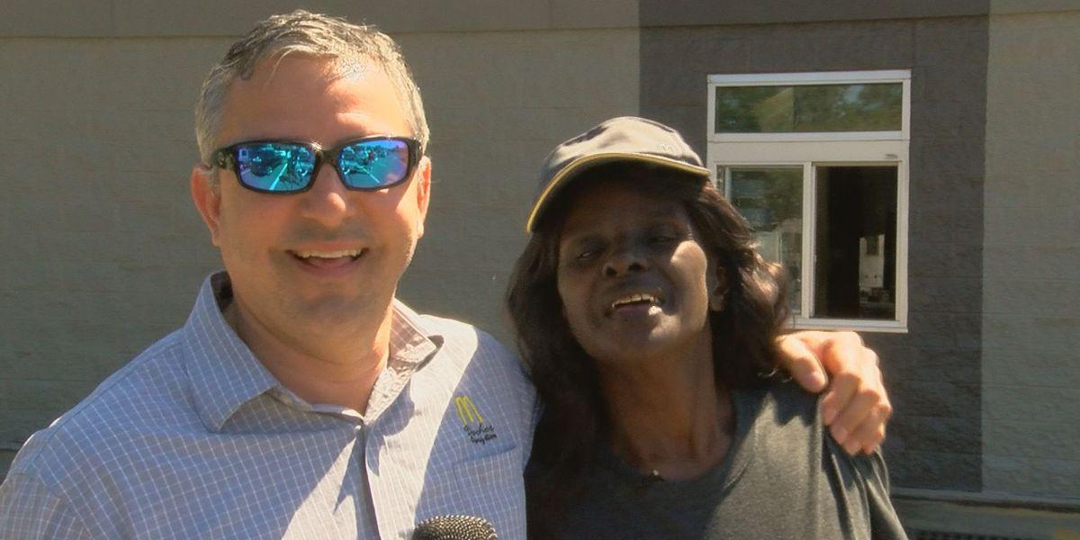 Miss Brenda shares smiles, prayers with McDonald's customers in Ocean Springs
