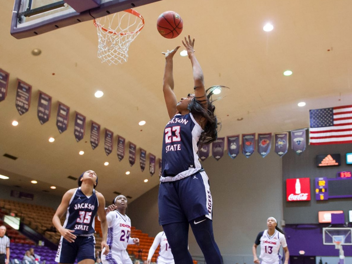 Lady Tigers take down Northwestern St. for first win