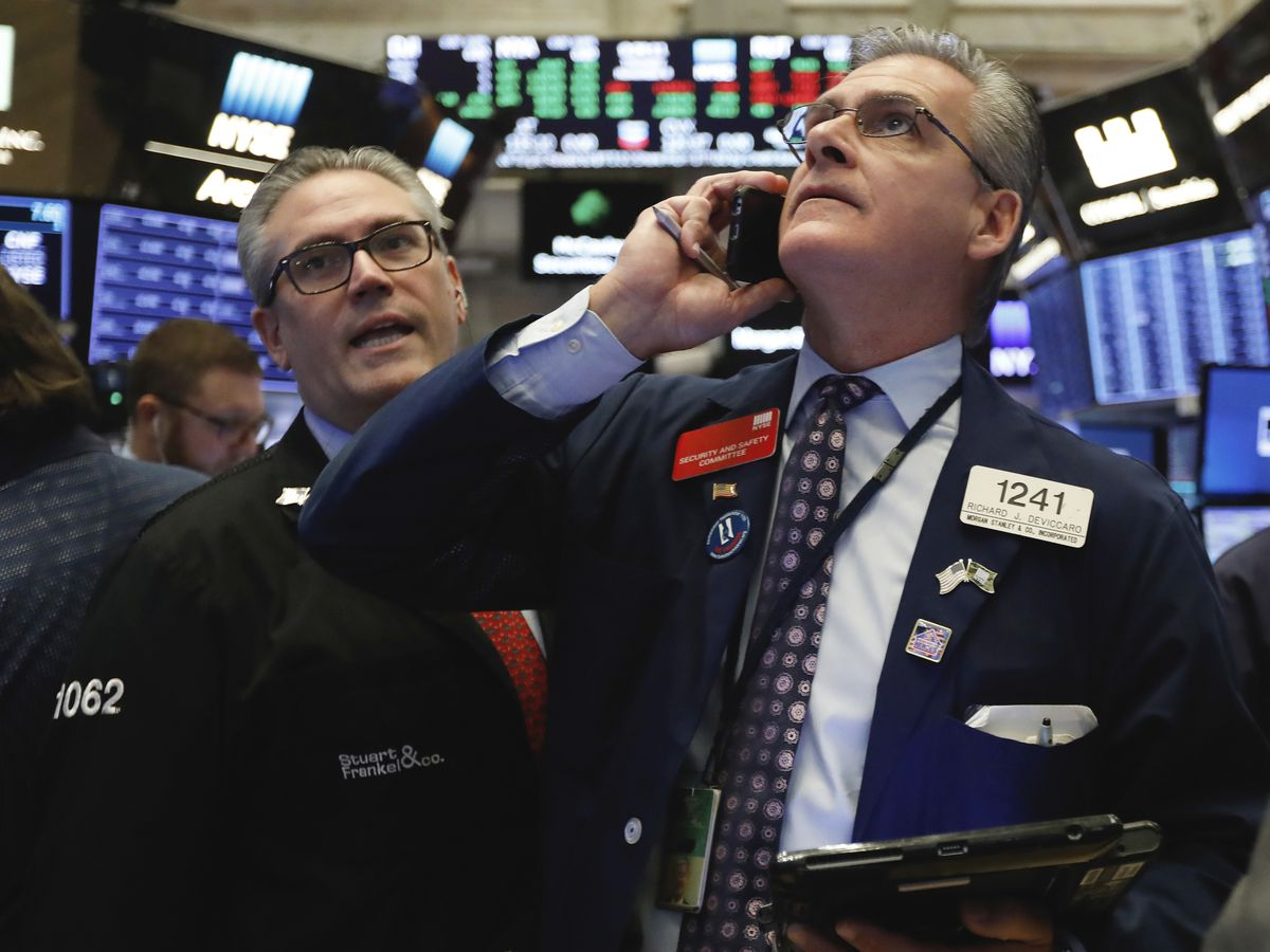 Health care, energy companies power US stock market higher